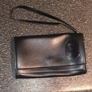 A Bathing Ape BAPE head Coin-Purse Wallet Pouch
